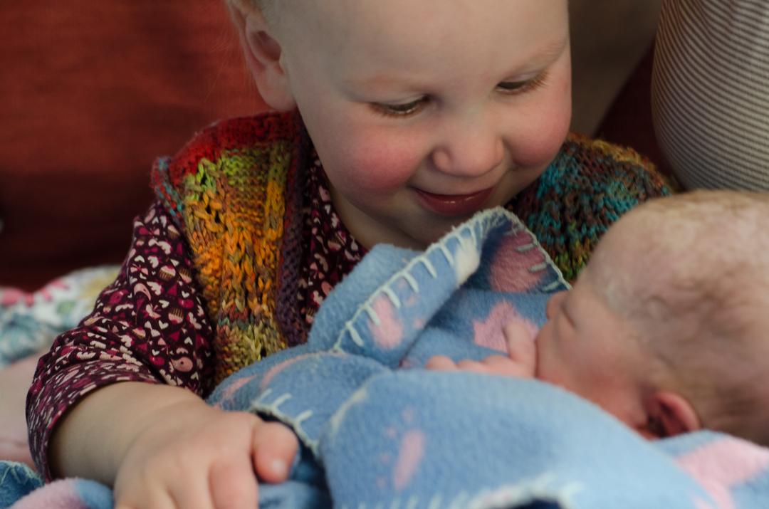 Geschwisterfreude